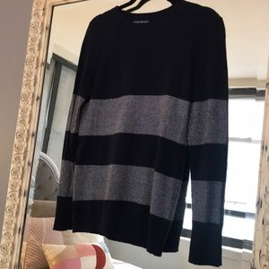 Banana Republic Sweaters - Banana Republic striped blue sweater size XS